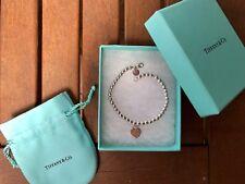 TIFFANY AND CO Return To Tiffany Bead Bracelet Silver