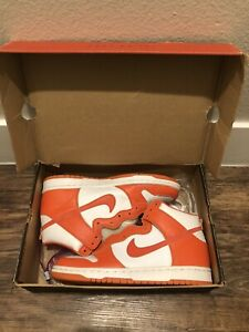 Nike Dunk High Orange Syracuse 1998 9.5
