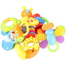 9tlg/ Set Baby Kinder Spielzeug Motorik Rasseln Greiflinge Rassel Babyrassel