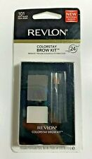 Revlon Colorstay Brow Kit #101 SOFT BLACK - NEW