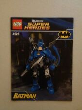 Lego Super Heroes Batman Set 4526 MANUAL ONLY FREE SHIPPING