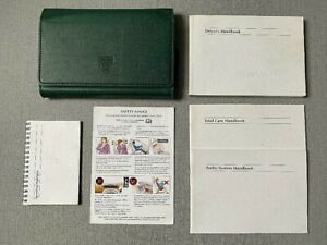 JAGUAR X TYPE HANDBOOK OWNERS MANUAL WALLET X-TYPE 2001-2007