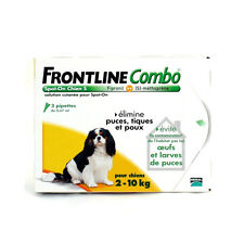 Frontline Combo Spot-On S Chien (2-10 kg) - 4 pipettes