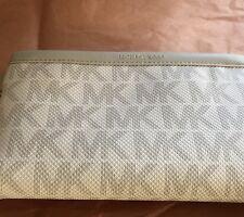 NWT!Michael Kors MK Signature Belt Wallet Fanny Pack Bag Pouch Travel Leather M