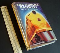 "1940s Vintage ""The World's Railways and How They Work"" Cutaways Inside Knowledge"