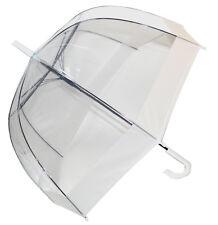 Paraguas cúpula transparente soake-Blanco