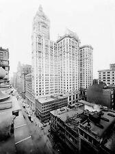 VINTAGE Photo Architectural CITY investimenti Building di New York Stampa lv4827