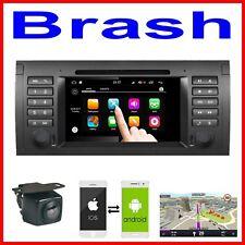 BMW X5 / E53 /E38 / E39 IN DASH DVD CD GPS APPLE CARPLAY ANDROID AUTO STEREO CAM