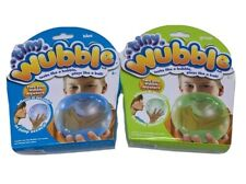 Tiny Wubble Bubble Ball Green and Blue Lot of 2 NEW