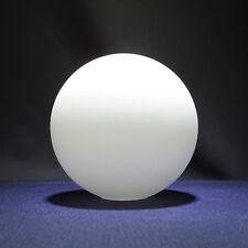Lampenschirm Lampenglas Leuchtenglas Glaskugel Ø90mm - Öffn.Ø 24mm Opalglas matt