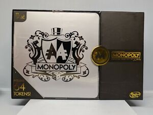 Hasbro Gaming MONOPOLY Signature Token Edition Board Game NEW in Sealed Box