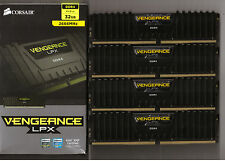 Corsair Vengeance LPX 32GB (4x8GB) DDR4-2666MHz Quad Channel C16 1.2V RAM