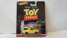 Hot wheels toy story pizza planet truck real riders