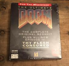 Ultimate Doom (Apple, 1995) Factory Sealed, Big Retail Box,  ID Software
