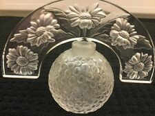 Reduced Lalique Crystal Folie Perfume Bottle, Frosted