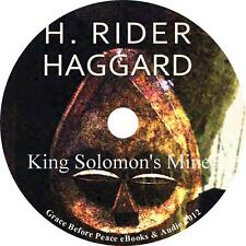 King Solomon's Mines H Rider Haggard Audiobook Fiction English Complete 1 MP3 CD