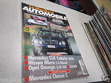 Le moniteur automobile no. 1165 1998 chevrolet corvette hardtop mercedes clk *