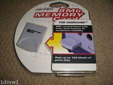 NINTENDO GAMECUBE & WII MEMORY CARD 8 MB 8MB Grey BRAND NEW! Mem Storage Device