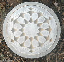 Modern geometric stepping stone plastic mold mould
