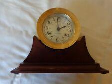 Vintage Seth Thomas Corsair E537-000 All Brass Marine (Ships) Clock, With key #2