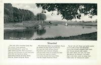 Ansichtskarte Nienburg Weser Weserlied   (Nr.9268)