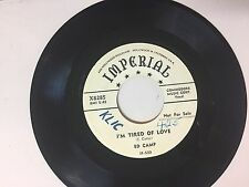 COUNTRY 45 RPM RECORD - ED CAMP - IMPERIAL 8285- PROMO