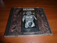 Decay Of Humanity By Despair (CD 1991 Century) Used ORG US Pressing RARE OOP