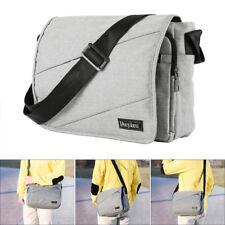 Men's Vintage Canvas Schoolbag Satchel Shoulder Messenger Bag Laptop Handbag