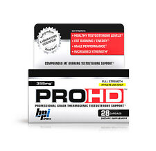 Pro-HD Sports Muscle Building Booster/Testosterone Help by BPI  (Best by 8/16)