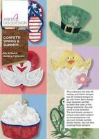 Confetti Spring & Summer Anita Goodesign Embroidery Machine Design CD NEW