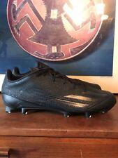 New Adidas Adizero 5 Star 5.0 Low Football Cleats Men's Size 15 Black Aq8137