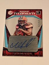 2018 Elements Rookie Titanium Auto Cleveland Browns 79/125 Nick Chubb
