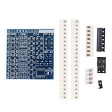 SMT SMD Component Weld Welding Practice PCB Board Soldering Solder DIY Suite Kit