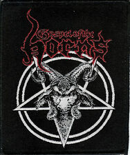 Gospel Of The Horns Baphomet Patch Destroyer 666 Bestial Warlust Nifelheim GOTH