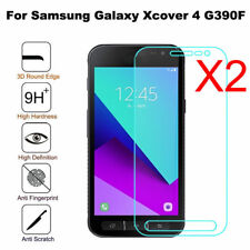 For Samsung Galaxy Xcover 4 G390F 2Pcs Real Tempered Glass Screen Protector New