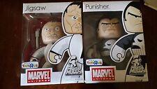 Marvel Mighty Muggs lot 7 IRON MAN_RED SKULL_PUNISHER_GHOST RIDER_TORCH Pop!