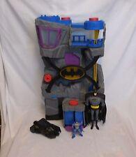 Fisher Price Imaginext BATCAVE DC Large Batman Play Set Super Friends + Car + Ba