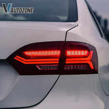 LED Tail Lights For Volkswagen VW Jetta MK6 Rear Lamp 2011-2014 Sequential 4pcs