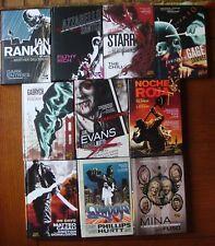 Vertigo Crime - Lot of 10 HC Graphic Novels-Brian Azzarello, Ian Rankin Like New
