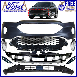 FITS FORD KUGA 2020 2021 FRONT BUMPER COVER KIT COMPLETE OE NEW S SE LV4B-17D957
