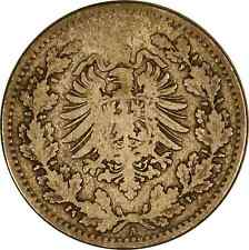 Germany 1877 A 50 Pfennig  **Free U.S. Shipping**