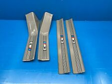 BMW E36 M3 OEM Sedan Door Sill Trim SILBERGRAU Gray 4 Pc ///M Sill Trim