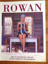 Rowan Relax, Handknit, Create Over 12 Designs To Handknit Magazine Supplement