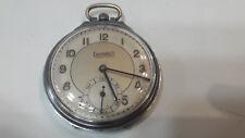 Eberhard orologio vintage da tasca cipolla pocket watch carica manuale 46.5 mm
