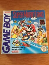 NINTENDO GAME Chico Mario Land En Caja Con Manual Gratis UK FRANQUEO