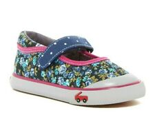 Toddler Girl See Kai Run Marie Mary Jane Sneaker Navy Berry Shoe Size US 8 EU 24