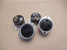 AHH Flange Female Receptacle 15A 15 A Amp 125 V Volt Lot of 4 Used