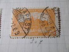 HONGRIE 1920, timbre CLASSIQUE 307, PARLEMENT, oblitéré, VF CANCEL STAMP