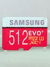 Samsung EVO Plus 512GB UHS-I MicroSDXC Micro SD Memory Card 512GB Class 10 U1-GB