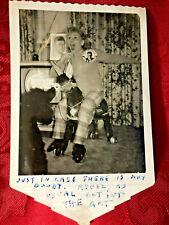 Rare Set of 3 Original Connee Boswell Photos- JFK Pic, Autograph, Buzz